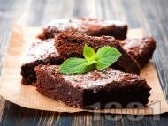 Шоколадово брауни класически десерт